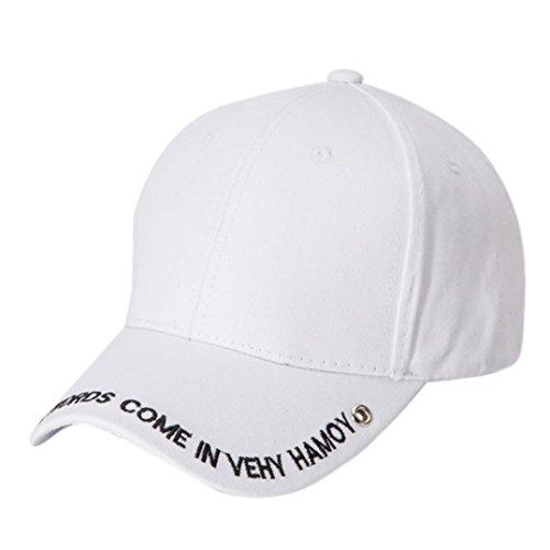 Rawdah Damen Baseball Cap weiß weiß, 012, weiß, Rawdah02 (Diamond Knit Cap Womens)