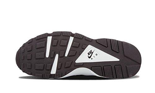Nike Womens Wmns Air Huarache Run Stampa Sneakers Nero, Platino Puro