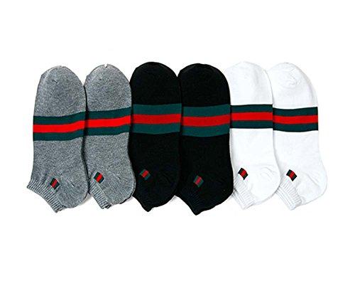 af21f828d18 ASLAN Herren Socken mit Streifen- 3er - Pack