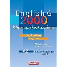 English G 2000 - Ausgabe A: Band 2: 6. Schuljahr - Klassenarbeitstrainer mit Lösungen und CD