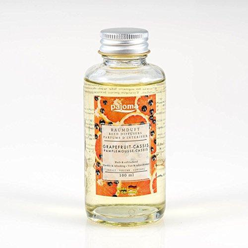 Raumduft Nachfüllflasche Grapefruit Cassis, 1er Pack (1 x 100 ml) von pajoma
