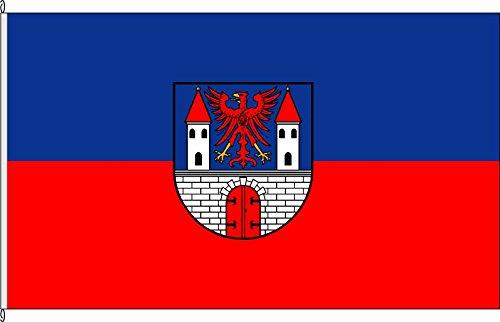 Königsbanner Tischfähnchen Havelberg - Tischflaggenständer aus Holz