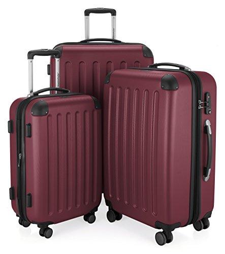 Hauptstadtkoffer Spree, Juego de maletas, Borgoña