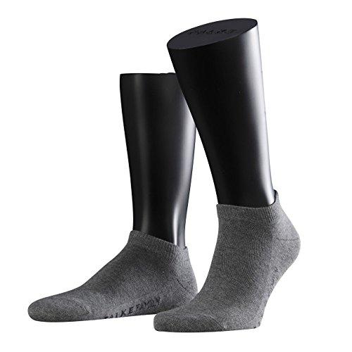 falke sneaker socken herren Falke Casual Herren Sneaker Socken Family Short 3er Pack , Größe:43-46;Farbe:Light Grey Melange (3390)