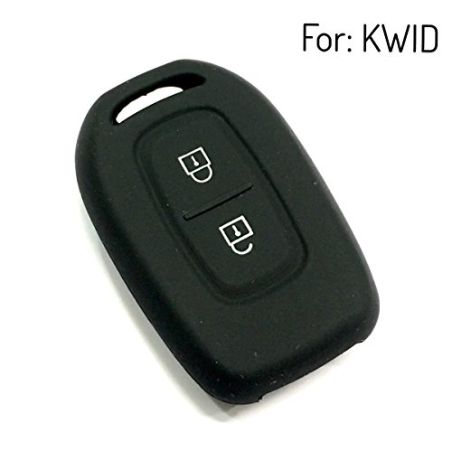 keyzone silicone key cover for renault kwid remote key (black) Keyzone Silicone Key Cover For Renault Kwid remote key (Black) 41mlwOUOavL