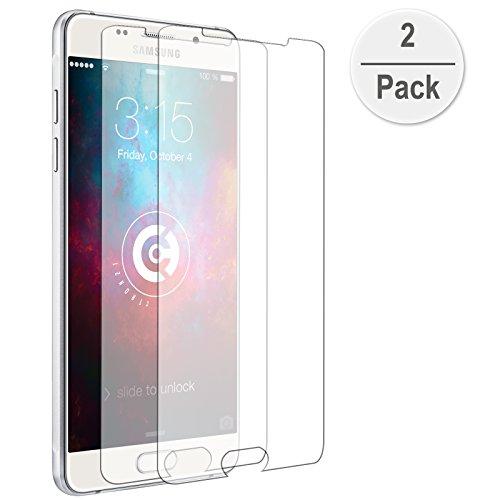 2x cTRON21 Panzerglas Schutzfolie Samsung Galaxy A3 (2016) Hartglas 9H Anti-Blässchen Panzerfolie