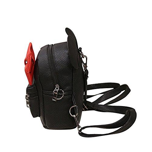 LianMengMVP 2019 Neue Mickey Rucksack weiblichen Mini Bag Frauen Rucksack Micky Maus Damen Stilvolle Rucksack Doppelschultertasche