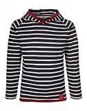 Elkline Crew Longsleeve Shirt Kids Blueshadow-White Größe 140-146 2017 Langarmshirt