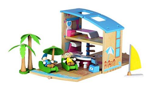 Wood box beach (japan import)