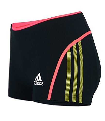 adidas Damen Short Tight AZP Boxer Brief (techonix - vividyellow, 36) (Adidas Adizero Short)