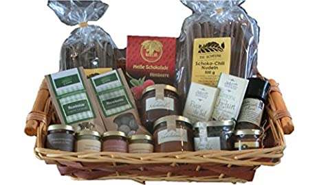 Geschenkkorb Schokoladen-King mit Schokoladennudeln, Schokoladensenf, Kakaobohnen, Schokoladensalz, Schokoladencremes, Trinkschokolade, Schokoladentafeln, -marmelade und -honig | gut als Geschenkkorb Schokolade, Geschenkkorb Süßigkeiten, Geschenkkorb Deluxe, Geschenkkorb Lebensmittel, Schokoladen Geschenk, Geschenkbox, Geschenkset, Geburtstagsgeschenk für Mann, Männer, Ihn, Herren, Kollegen, Freund, Männer 50, Geschenkidee für Mann, Männer, Ihn, Herren, Freund, Männer 50