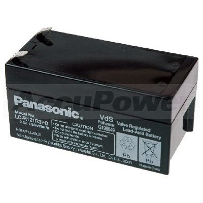 PANASONIC BLEI-AKKU 12 V, 1,3 AH (Panasonic G 50)