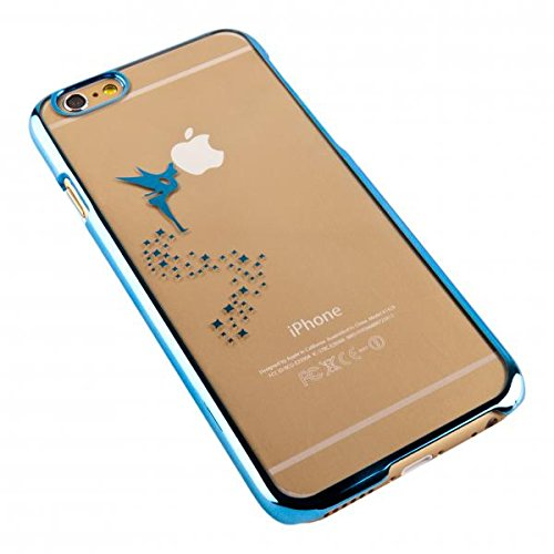 ECENCE APPLE IPHONE SE / 5 5S CASE COVER SCHUTZ-HUELLE SCHALE FEE BLAU 41010507 Fee Blau