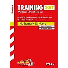 Training Zentrale Prüfung Realschule, Gesamtschule EK NRW - Mathematik Lösungsheft