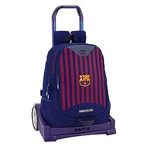 FCB FC Barcelona Mochila con Carro Ruedas Evolution, Trolley.