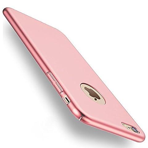 Coque iPhone 6/6s, Joyguard PC Matière avec [Plein Ecran en