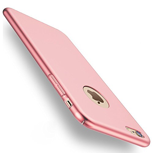 iPhone 6 Caso/iPhone 6s Caso, MAX-T [Protección Integral] [Ultra-Delgado] [Ultra-Light] Anti-rasguños Estuche duro mate iphone 6 - 4.7pulgada - Oro Rosa