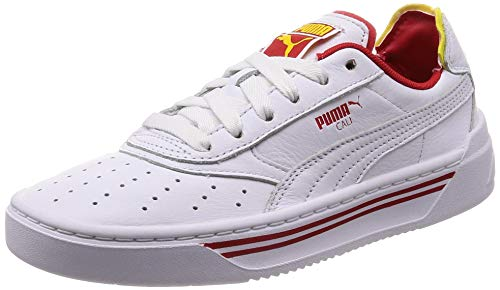Puma Cali-0 Drive Thru Cc - puma white-blazing yellow-high, Größe:9