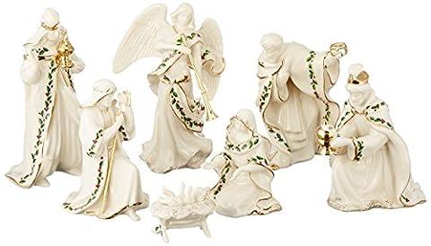 Lenox Holiday Krippe, Set of 7(Heilige Familie, drei Könige, Engel) (Porzellan Engel Figurine)