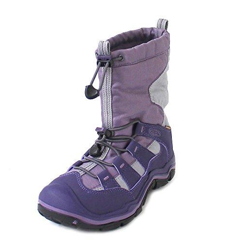 Keen Mädchen Winterport II WP Trekking-& Wanderstiefel, Violett (Purple Plumeria/Alloy), 31 EU (Winter Keen)