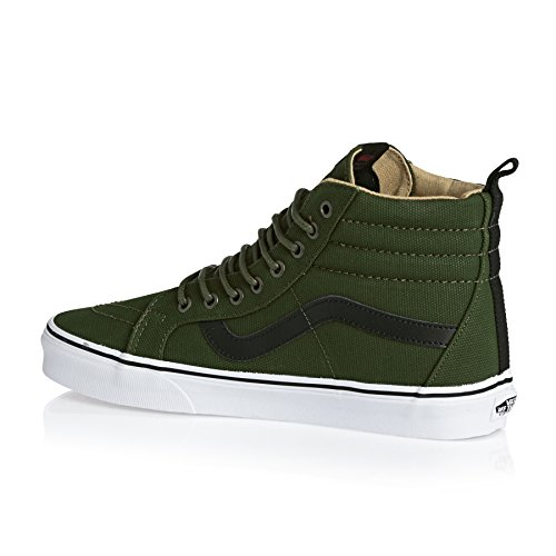 Vans Sk8-Hi Reissue PT Military Twill Black True White Vert