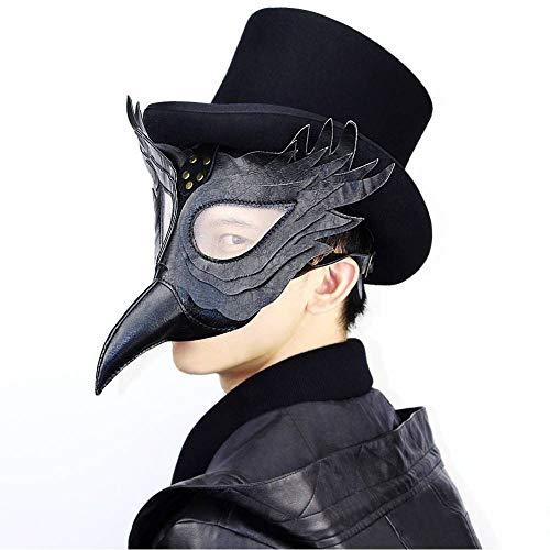 Steampunk Pest Schnabel Doktor Maske Halloween Party Kostüm Requisiten Cosplay Maske,Bild,Einheitsgröße ()