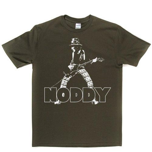 Noddy Holder English Lead Vocalist Rock Band Tee T-shirt Militärgrün