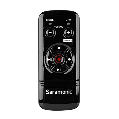 Saramonic RC-X - Telecomando anti-shake con filo, per registratori digitali portatili Zoom H6, H5, H4n Pro, H2n, e PCM-M10, PCM-D50, PCM-D100
