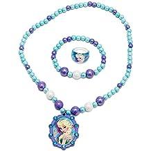 Joy Toy 755782Disney Frozen Pearls braccialetto/collana e anello set
