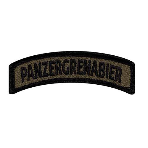 Café Viereck ® Bundeswehr Panzergrenabier Fun Patch Gestickt mit Klett - 7 cm x 1,8 cm