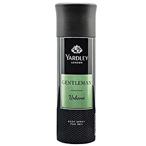 Yardley London Gentleman Urbane Deo Body Spray for Men, 220ml