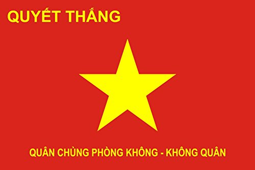 magFlags Flagge: Large Vietnam People s Air Force | Querformat Fahne | 1.35m² | 90x150cm » Fahne 100% Made in Germany (Stadt 1 Air Force)