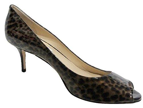 Jimmy Choo - Zapatos de vestir para mujer marrón Brown Animal Print 40 (7 UK)
