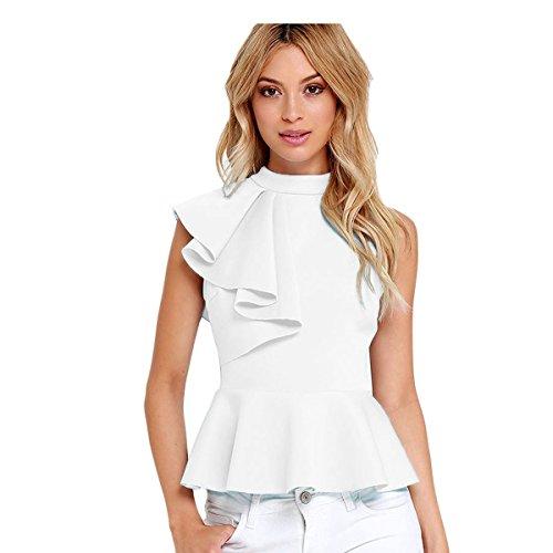 Damen Top - weiß Weiß