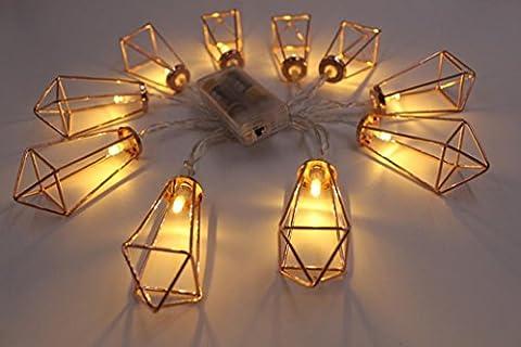 Vovotrade 10 pcs LED Lampes à Cordes Décor Halloween Fête