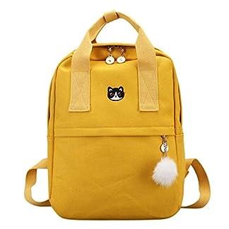 41mm4AHWa0L. SS324  - Mochila OneMoreT para mujer, para la escuela, adolescentes, niñas, estilo vintage, para la escuela, mujer, lona, mochila de tela
