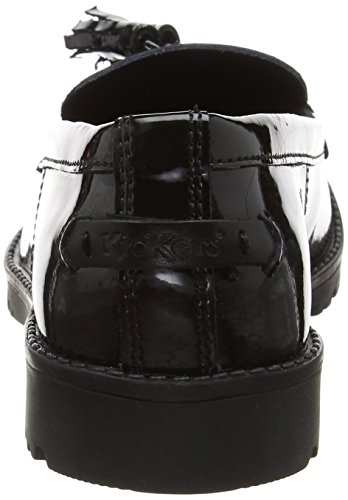 Kickers Lachly TASS, Mocassini Donna Nero (Black)