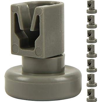 Korbrollen 8 Stück für Geschirrspüler 50269970005 AEG Electrolux Korbrolle