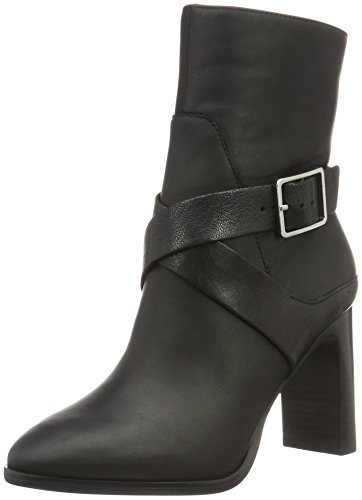 Aldo-stiefel Frauen (ALDO Damen Coinia Kurzschaft Stiefel, Schwarz (Black Leather/97), 40 EU)