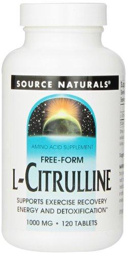 Source Naturals - L-Citrulline 1000 mg - 120 Comprimés