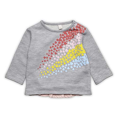 Silber Baby-mädchen (ESPRIT KIDS Baby-Mädchen Sweatshirt, Silber (Heather Silver 223), (Herstellergröße: 74))