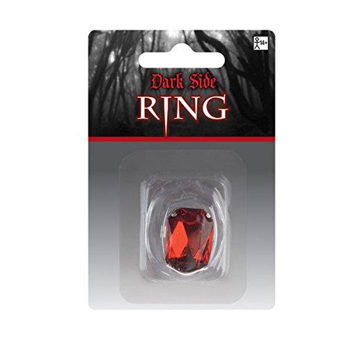 Amscan Internacional adultos anillo (rojo)
