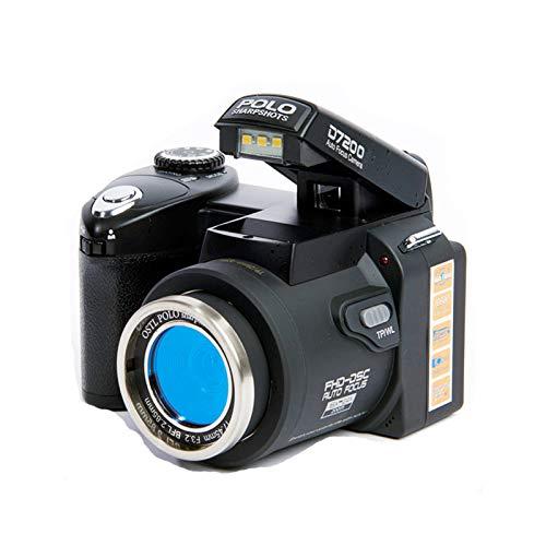 LDJC Digitalkamera, SLR-Kamera Makro HD D7200 21 Mal Teleobjektiv D33 Megapixel HD1080P Video im Freien, Reisen