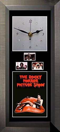 Film Cells Direct Wanduhr, Motiv Rocky Horror mit Swarovski-Kristallen, geräuschlos (Der Magenta Horror Aus Rocky)