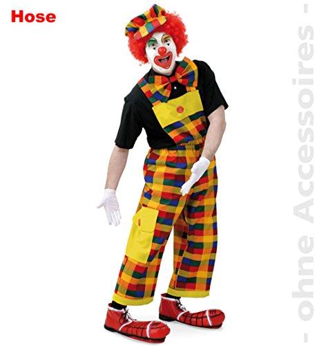 (Latzhose Peppo, Clownshose, Größe L)