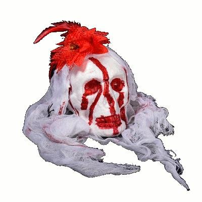 Pinkfishs KALOAD M12 Halloween Bar Haunted Full Face Maske Props Bubble Simulation Blase Ghost Friedhof Terror Dress Up - Gelb