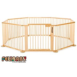 ONE4all 1+7 Cancelletto di sicurezza flessibile, box per bambini