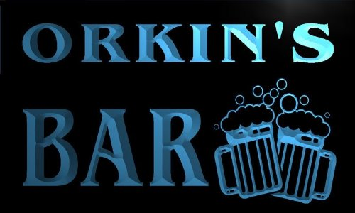 w051190-b-orkin-name-home-bar-pub-beer-mugs-cheers-neon-light-sign