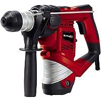 Einhell 4258237 TH-RH 900/1 Martillo perforador con mecanismo percutor neumático 900 W, 240 V, 3 funciones, tope de profundidad