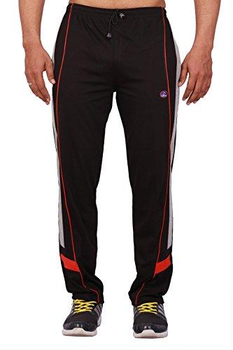 VIMAL Men's Track Pants (D7BLACK01-XXL_Black)